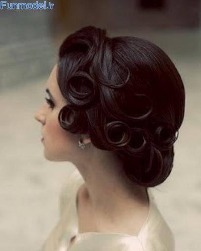 www.rozfun.ir - مدل هاي شنيون مو زنانه و دخترانه